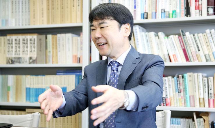 井上寿一さん/政治・歴史学者、学習院大学学長