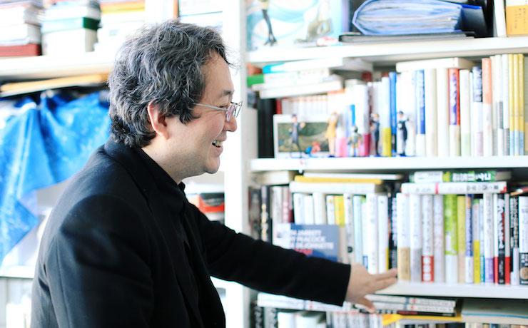 小沼純一さん/早稲田大学文学学術院教授
