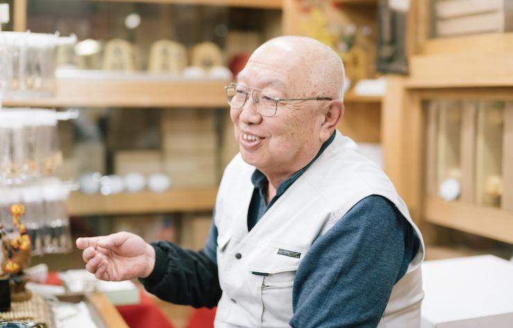 佐藤稔さん/駒師、二代目光匠・天童佐藤敬商店店主