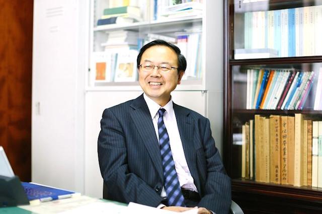 山内志朗さん/慶応義塾大学文学部教授