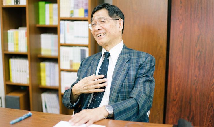岩井俊憲さん/ヒューマン・ギルド代表